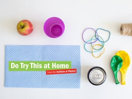 We want to make it easy for parents and carers to get their children excited about physics. That's why we've created Do Try This at Home, a series of fun science experiments for kids, with short demonstration videos and simple, step-by-step instructions.