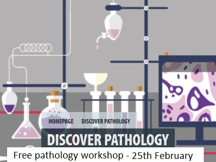 Primary teachers and secondary science teachers are invited to a special online workshop on 12 January, where you'll learn how to run four simple STEM enrichment activities about the human body and disease.  A second session on 28 January will be for your students to try out the activities, and to ask pathologists questions about the topics and what they do in their jobs.