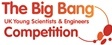The Big Bang Competition lets more young people than ever showcase their science, technology, engineering and maths (STEM) projects and is open to UK residents in full-time secondary education