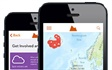 myVolcano is an iPhone/iPad app that tells you about all the volcanoes in the world and allows you to add photos and other information in citizenscience mode.