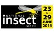 A week of activities nationwide, National Insect Week encourages people of all ages to learn more about insects. National Insect Week returns in 2018