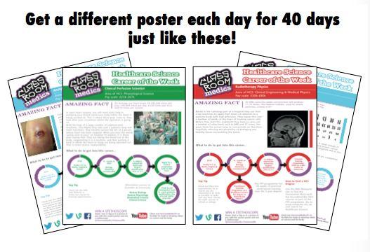 Classroom Medics - Free Posters - SchoolScience.co.uk